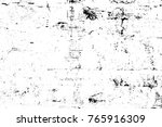 grunge black and white pattern. ... | Shutterstock . vector #765916309