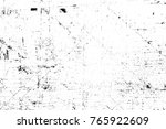 grunge black and white pattern. ... | Shutterstock . vector #765922609