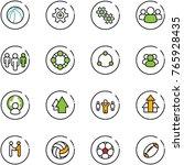 line vector icon set  ...   Shutterstock .eps vector #765928435