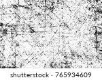 grunge black and white pattern. ... | Shutterstock . vector #765934609
