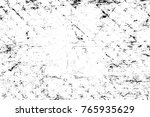 grunge black and white pattern. ... | Shutterstock . vector #765935629
