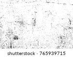 grunge black and white pattern. ... | Shutterstock . vector #765939715