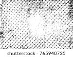 grunge black and white pattern. ... | Shutterstock . vector #765940735