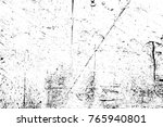 grunge black and white pattern. ... | Shutterstock . vector #765940801