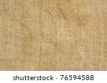 texture old canvas fabric as... | Shutterstock . vector #76594588