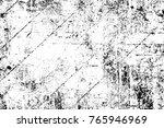 grunge black and white pattern. ...   Shutterstock . vector #765946969