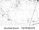grunge black and white pattern. ... | Shutterstock . vector #765948235