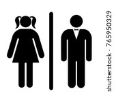 sign  icon male and female... | Shutterstock .eps vector #765950329
