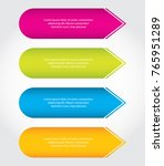 special arrow stickers ... | Shutterstock .eps vector #765951289
