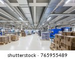 equipment for the packing of... | Shutterstock . vector #765955489
