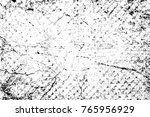 grunge black and white pattern. ... | Shutterstock . vector #765956929