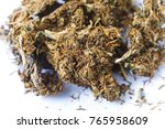 indian hemp and hashish... | Shutterstock . vector #765958609