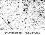grunge black and white pattern. ... | Shutterstock . vector #765959281