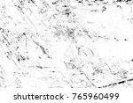 grunge black and white pattern. ... | Shutterstock . vector #765960499