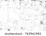 grunge black and white pattern. ... | Shutterstock . vector #765961981