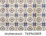 beautiful ceramic wall texture... | Shutterstock . vector #765962809