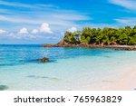 beautiful beach. lipe island ...   Shutterstock . vector #765963829