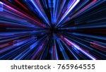 abstract blocks background.... | Shutterstock . vector #765964555