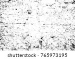 grunge black and white pattern. ... | Shutterstock . vector #765973195