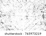 grunge black and white pattern. ... | Shutterstock . vector #765973219