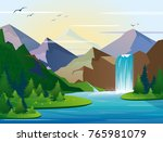 vector illustration of... | Shutterstock .eps vector #765981079