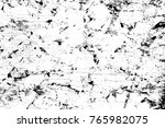 grunge black and white pattern. ... | Shutterstock . vector #765982075