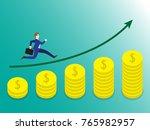 business concept as a...   Shutterstock .eps vector #765982957