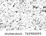 grunge black and white pattern. ... | Shutterstock . vector #765983095