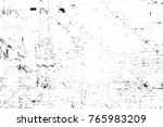 grunge black and white pattern. ... | Shutterstock . vector #765983209