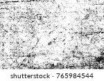 grunge black and white pattern. ... | Shutterstock . vector #765984544