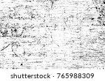 grunge black and white pattern. ... | Shutterstock . vector #765988309