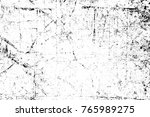 grunge black and white pattern. ... | Shutterstock . vector #765989275