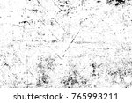 grunge black and white pattern. ... | Shutterstock . vector #765993211