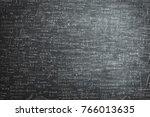 dirty grunge chalkboard full of ... | Shutterstock . vector #766013635