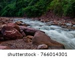 river and natural. | Shutterstock . vector #766014301