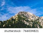 Panorama Bucegi Mountains And...