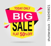 sale discount isolated offer tag | Shutterstock .eps vector #766040821