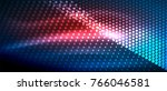 neon light effects  particles ... | Shutterstock .eps vector #766046581