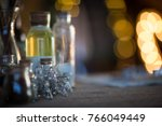 christmas decorations ... | Shutterstock . vector #766049449