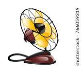 fan  ventilator vector   Shutterstock .eps vector #766059319