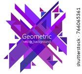 minimalist design  creative... | Shutterstock .eps vector #766065361