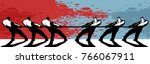vector illustration concept of... | Shutterstock .eps vector #766067911