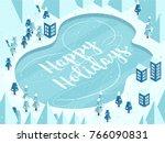 vector illustration in cartoon... | Shutterstock .eps vector #766090831