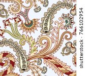 seamless pattern with beige... | Shutterstock .eps vector #766102954
