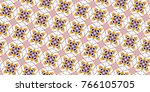 sloping colorful seamless... | Shutterstock . vector #766105705