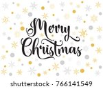 decorations for christmas... | Shutterstock .eps vector #766141549