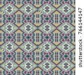 Geometric Abstract Owl Pattern...
