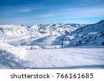 zillertal arena  skiing  winter ...   Shutterstock . vector #766161685