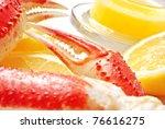 Snow Crab Legs With Fresh Lemon ...