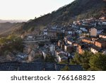 the yangchan tulou  the chinese ... | Shutterstock . vector #766168825